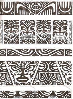 Maori tattoo kirituhi Polinesia Polynesian Tatuaje by Tatuagem Polinésia - Tattoo Maori Maori Tattoos, Ta Moko Tattoo, Hawaiianisches Tattoo, Tattoo Bein, Marquesan Tattoos, Tattoo Motive, Samoan Tattoo, Tribal Tattoos, Sleeve Tattoos