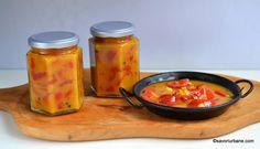 Gogoșari în sos de muștar rețeta simplă pentru iarnă | Savori Urbane Romanian Food, Romanian Recipes, Deli Food, Turmeric, Pickles, Goodies, Jar, Canning, Facebook
