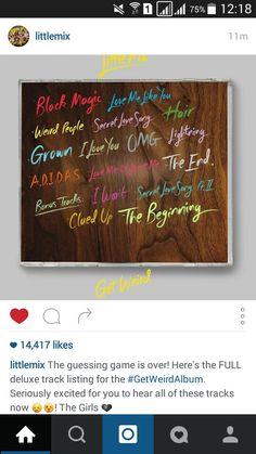 Little Mix - Get Weird tracks Little Mix Instagram, Mixers, Queens, Weird, Celebs, Random, Amazing, Music, Casket