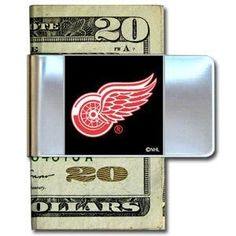 Detroit Red Wings NHL Money Clip by NHL. $11.25. Put your NHL spirit where your money is with this large stainless steel money clip.
