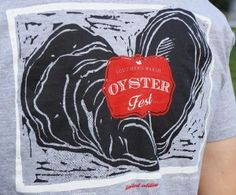 Southern Marsh Oyster Fest t-shirt - part of Palmetto Moon's Ultimate Oyster Lover giveaway package!