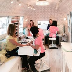 Are you prepped for the weekend? Come to the nail truck and we'll get you set! #manipediparty