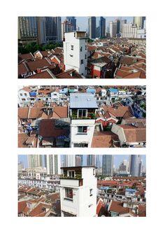 House on the House,© HU Yijie