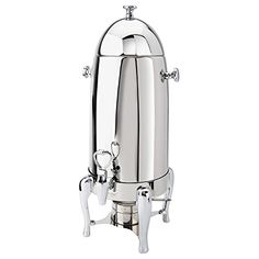 Eastern Tabletop 3135 Ballerina 5 Gallon BulletShaped Stainless Steel Coffee Chafer Urn >>> Click on the affiliate link Amazon.com on image for additional details.