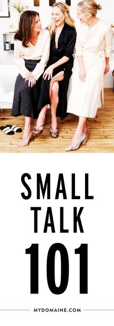 Become a pro at small talk