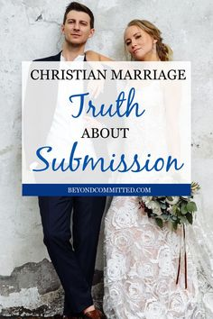 Submission in marriage can be a beautiful thing, but it is often controversial, misunderstood, & debated. Marriage is a beautiful thing and it has rules. When you want to have a God-centered marriage there are some clear things God says about marriage and a wife's role. Submitting to your husband is one of them. So here is all you need to know about true biblical submission