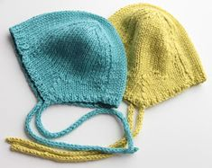 Ravelry: Bamboo hat for newborn pattern by Tuula Maaria Knitted Hats Kids, Knitting For Kids, Kids Hats, Baby Knitting Patterns, Crochet For Kids, Crochet Baby, Hand Knitting, Knit Crochet, Knitting Ideas
