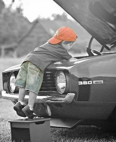 *Little Mechanic (Touch of Color)