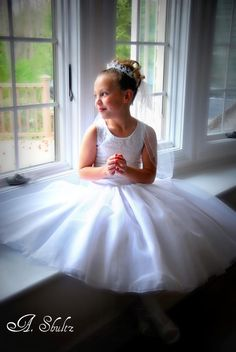 Picture I took of this Beautiful Communion girl... Natural Light