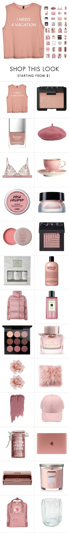 """6424"" by tiffanyelinor ❤ liked on Polyvore featuring NARS Cosmetics, Butter London, H&M, Bobbi Brown Cosmetics, Williams-Sonoma, ULTA, Weekend Max Mara, Jo Malone, MAC Cosmetics and Burberry"