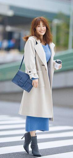 Ol Fashion, Japan Fashion, Cute Girls, Duster Coat, Sexy Women, Chic, Casual, Pattern, Jackets