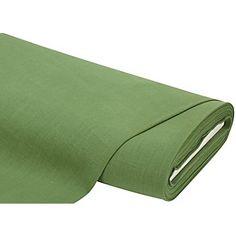 Tissu lin, vert olive, beau tissu à surface structuré, idéal pour des idées de couture rustiques, comme p.ex. de linge de table, de rideaux, de vêtements folkloriques, etc., pré-lavé.Taux de retrait : 3 %.Composition : 100 % linPoids : env. 240 g/m²Largeur : 140 cm