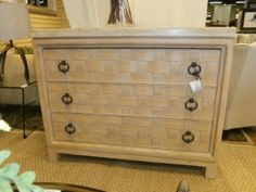 Price: $949.99  Item #: 133843 Lexington, three drawer chest with marble top. Measures 48 x 19 x 38.