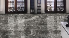 Nature's Marble in Charcoal is a marble look that will elevate any home to a palace. This decadent look is sure to impress! Surface Art, Large Format Tile, Italian Tiles, Charcoal Black, Tile Art, Living Room Inspiration, Palace, Living Spaces, Hardwood