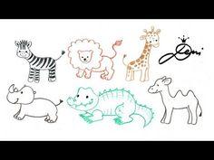 Die 22 Besten Bilder Von Ganz Einfach Tiere Zeichnen Lernen