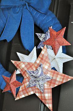 DCWV Nantucket Stack Wreath