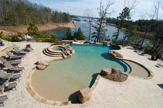 Pool and Lake.  What more could you want?