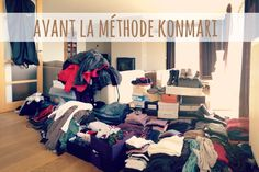 Désencombrer sa garde-robe selon la méthode KonMari Home Organisation, Life Organization, Konmari Method, Home Management, Declutter Your Home, Tidy Up, Home Hacks, Little Houses, Home Staging