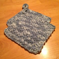 Crochet Potholder Set. Handmade 100% by MaryDSerenityDesigns