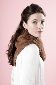 Faux Fur Neckerchief By Blanche in the Brambles