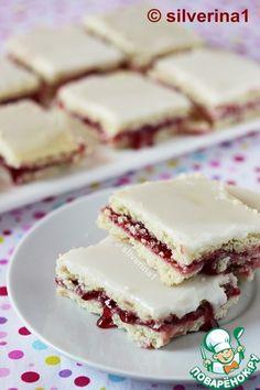 Малиновые печенья Ukrainian Recipes, Russian Recipes, Baking Recipes, Dessert Recipes, Desserts, Pastry Shop, No Cook Meals, Sweet Tooth, Bakery