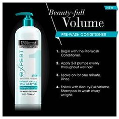 TRESemmé Beauty Full Volume Pre Wash Conditioner... : Target
