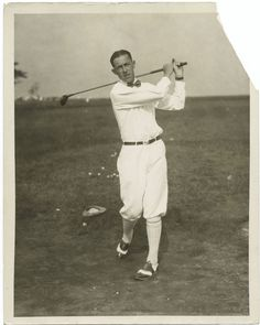 ted ray vintage golf clubs