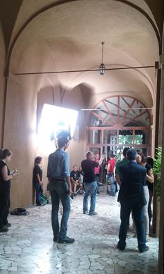 Don Matteo 10 a Spoleto. Nuove immagini dal set