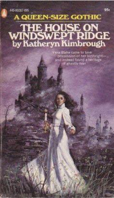 House of Windswept Ridge Horror Books, Horror Comics, Gothic Books, Spooky House, Queen Love, Vintage Gothic, Romance Novels, Cover Art, Pop Art