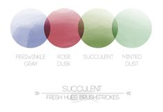 nice hughs *brushstrokes* | fresh hues