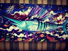 """Marlin #kerbyrosanes #animorphia #adultcoloringbook #coloring"""