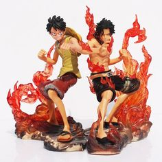 These epic action figures inspired by the One Piece brothers - Ace & Luffy, come together as a set and would be an awesome addition to a collection or simply as a gift for One Piece fans! Theme: One P