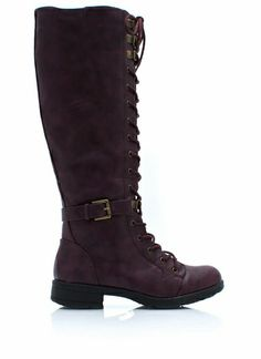 Tall Or Nothing Lace-Up Boots