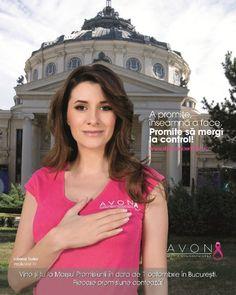 """Iuliana Tudor- Breast Cancer Awarness Campaign """"Promises"""""""