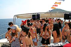 Amazing boat party's in Benidorm