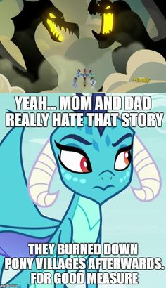 When pony legends are your awkward family history