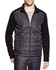 Boss Hugo Boss Pizzoli Milano Rib Quilted Nylon Jacket