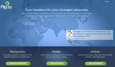Flip.to wants to turn travellers into advocates for travel brands op 24 april