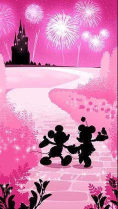 Mickey & Minnie Wallpaper Size iPhone 6S