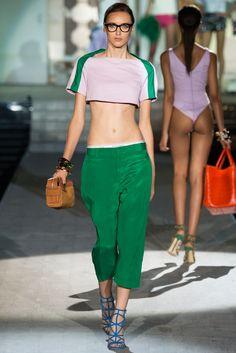 Dsquared2 Spring 2015 Ready-to-Wear Fashion Show - Stasha Yatchuk (WOMEN Milan)