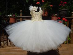 Hey, I found this really awesome Etsy listing at https://www.etsy.com/listing/188762529/ivory-2-pc-tutu-dress-and-headband