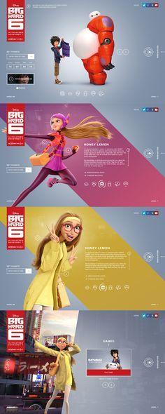 Big Hero 6 by Rolf A. Jensen & Watson | Honey Lemon Poster | Disney