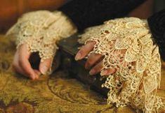 Venetian Lace Cuffs