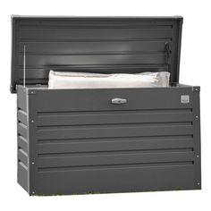 Perfekta förvaringsboxen för utomhusbruk mörkgrå Den perfekta förvaringslösningen, för att plocka undan saker som inte har någon lämpling plats. Idealiskt