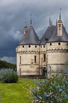 Château de Chaumont sur Loire, Centre, France