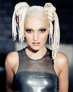 Gwen Stefani when she did the video with Moby. The top is SO 90s. I actually like it