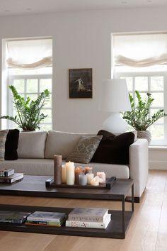 Contemporary Belgian sitting room