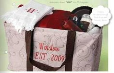 Wedding Gift Check Both Names : Wedding or Shower Gift: personalized Thirty-One Gifts Picnic Thermal ...