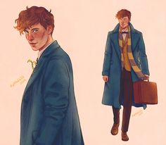 185 Best Newt Scamander Images Fantastic Beasts Where Harry