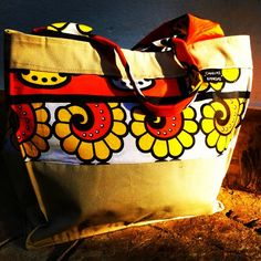 Byebye Sunshine  Just sitting in the last sunray's of the day this beachbag is getting ready for tomorrow.  Where will you be and are you taking your Canvas & Kangas bag with you?  Handmade in Africa  CanvasandKangas.com  #design #sun #beach #handmade #made #africa #kenya #handcraft #canvas #kanga #lesso #shopperbag #beachbag #handbag #style #fashion #life #lifestyle #unique